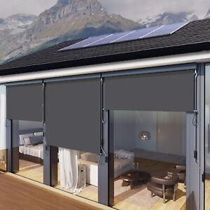 Senkrechtmarkise für Balkon Terrasse, 160 x 250 cm Vertikalmarkise für außen Neu