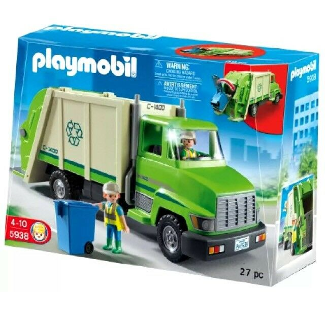 Playmobil  5938 CAMION DE RECICLAJE - RECYCLING TRUCK   Descatalogado USA