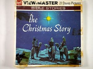 view master the christmas story b383 3 reels booklet rr ebay