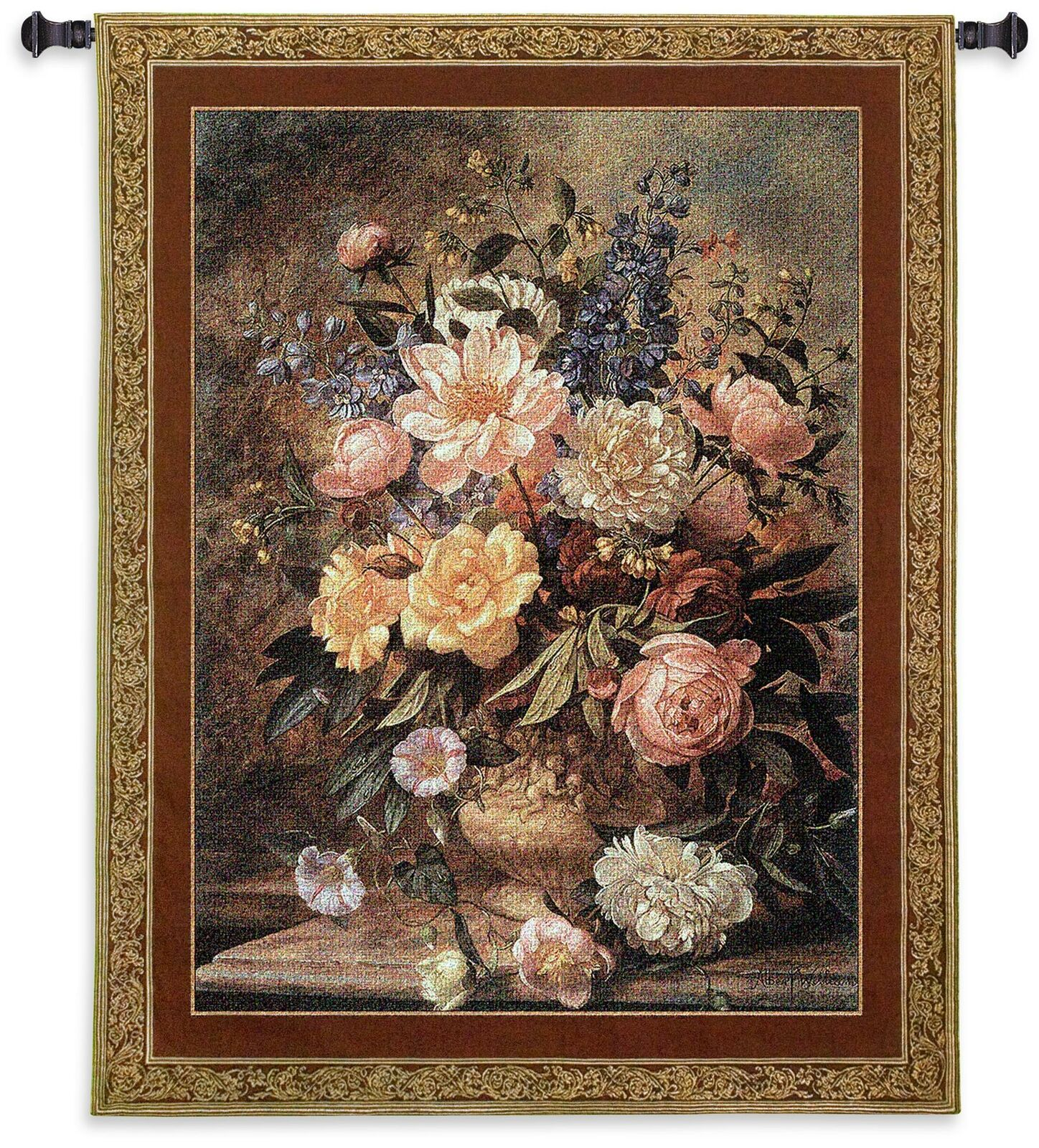 Natures Glory III  North American Made Woven Tapestry Wall Hanging