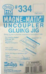 Kadee 334 HO-Scale Uncoupler Gluing Jig Guide for Installing on Track