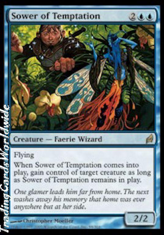 Reproductor Reproductor Reproductor de tentaciones     foil     NM     lorwyn     engl.Fiesta mágica. 5ba