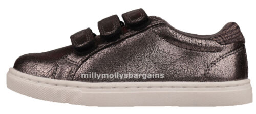 New Girls Grey NEXT Trainers Size 2 3 9 10 Infant