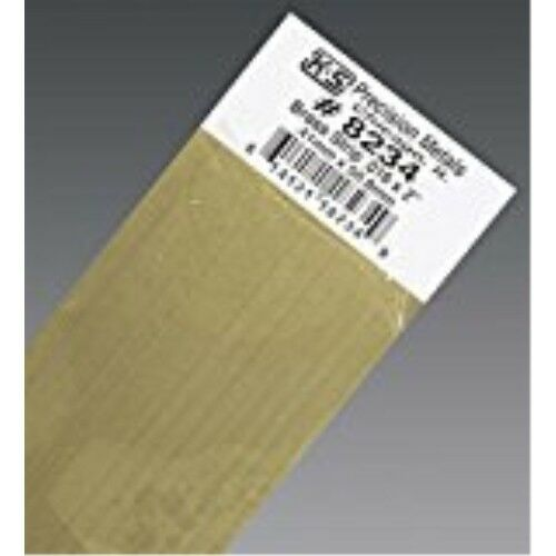K /& S PRECISION METALS 8234 .016 x 2 x 12 Brass Strip