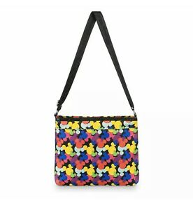 Disney-Parks-Multicolored-Mickey-Icons-Walt-Disney-World-Crossbody-Bag-Purse-NWT