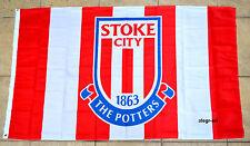 Stoke City Flag Banner 3x5 England British UK Premier Football Soccer