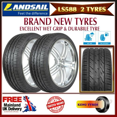 FREE FITTING OR FREE POSTAGE 2x285//35WR22 LANDSAIL 106WXL LS588,BRAND NEW TYRES