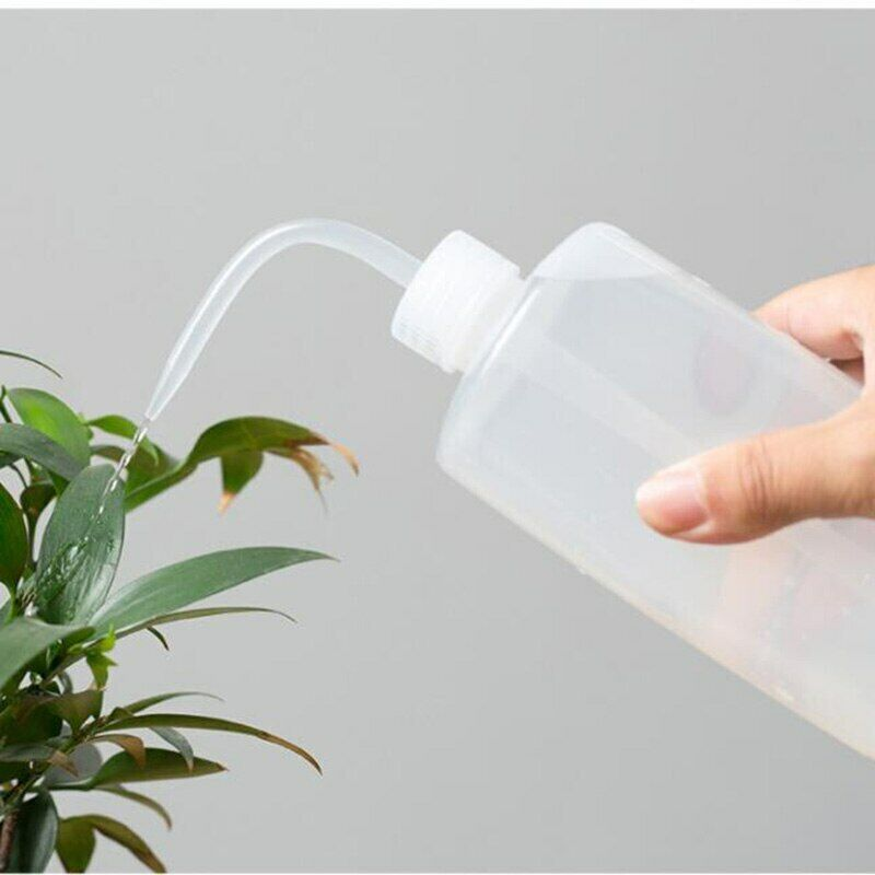 250/500ml Curved Mouth Diffuser Soap Wash Squirt Squeeze Bottle for Lab kitchen