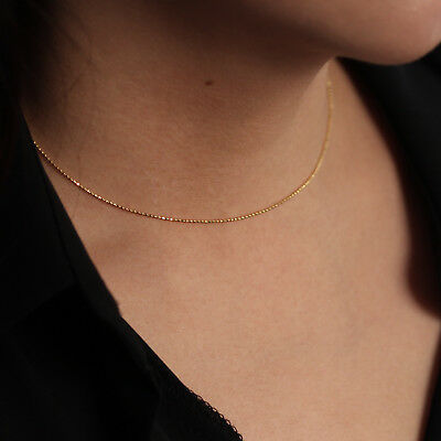 Bridesmaid Gift Minimalist Necklace Gold Filled Gold Ball Necklace 14K Gold Bead Necklace Gold Layering Necklace Everyday Jewelry