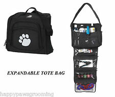 PET GROOMER GROOMING Mobile Travel Storage Tool Case Tote MULTI USE BAG*EXPANDS