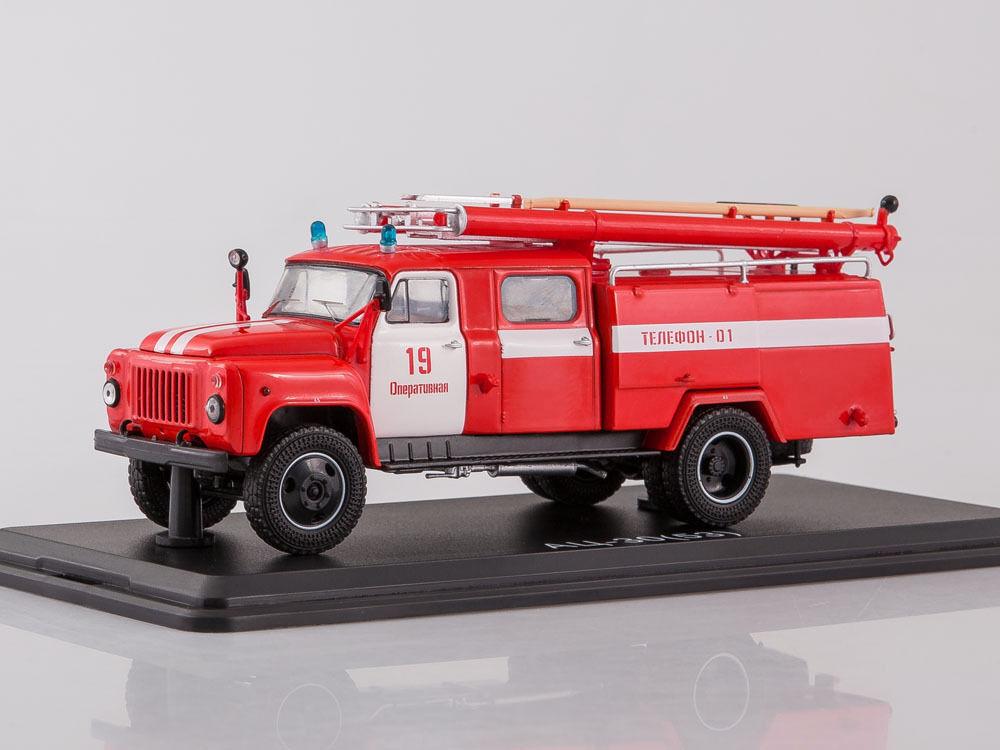 Gaz 53-12 AC-30-106V camión de bomberos SSM1267 1 43