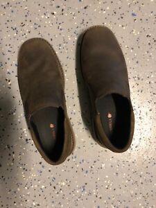 Merrell-World-Vue-Venetian-Moc-Slip-On-Shoes-Men-039-s-Size-9M-Brown