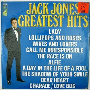 JACK-JONES-Greatest-Hits-LP-1968-POP-VOCAL-NM-NM