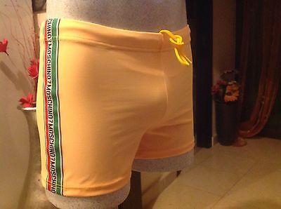 Costume boxer  mare UOMO moschino tg 50 giallo...svendo  €39,90 elasticizzato