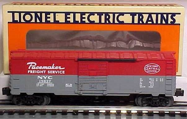 Lionel 6-19827 NY Central Operating Boxcar new in the box