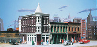 Walthers Cornerstone Series Kit HO Scale Merchant's Row II Toys