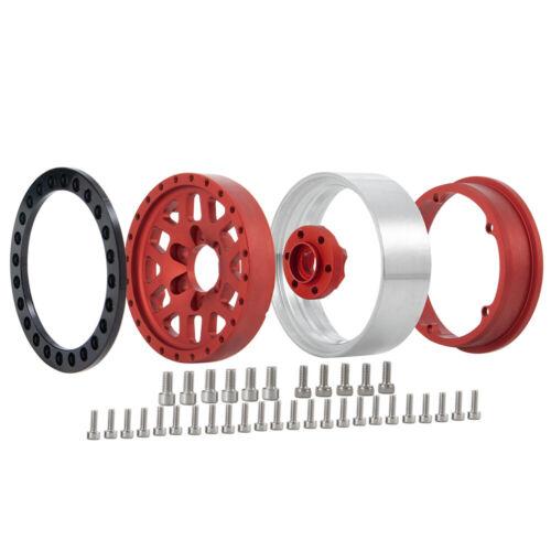 4 Stück Alloy 1.9/'/' Beadlock Wheel Rims Felgen Für 1//10 RC Axial SCX10 D90 TRX4