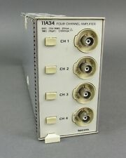 Tektronix 11a34 4 Channel Amplifier Plug In For 1100 Series 300mhz