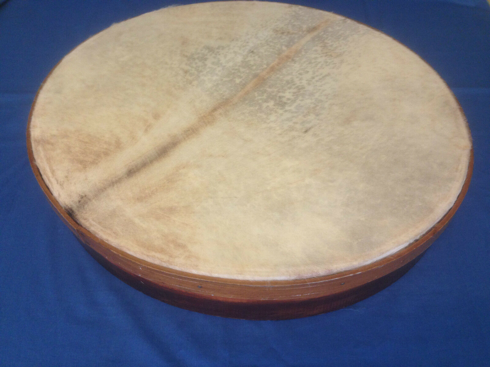 22  NATURAL LEATHER HANDMADE PANDEIRO BRAZILIAN TAMBOURINE PERCUSSION DRUM
