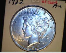 1922-P US Peace Dollar, Cir High Grade, .7734 Oz Slv (US-5662)