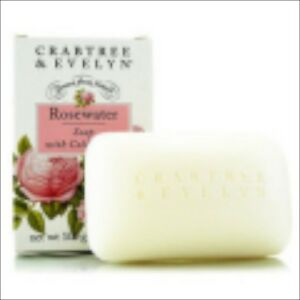 Crabtree Evelyn Rosewater Triple Milled Travel Size Soap 40g Nib Other Bath & Body Supplies Bath & Body