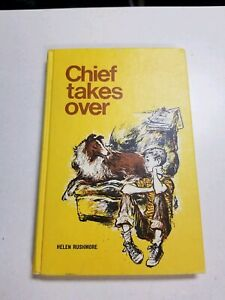 Vintage-1956-Chief-Takes-Over-Children-039-s-Weekly-Reader-Book