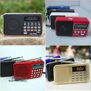 Radio Mini Lcd Empfänger Digital Fm Am Radio Lautsprecher Usb Micro Sd Tf Karte Mp3 Player