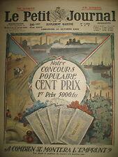 A COMBIEN L'EMPRUNT ? CHAUFFAGE DANS LES REGIONS LIBéRéES LE PETIT JOURNAL 1920