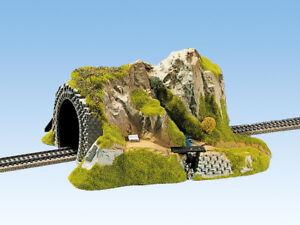Amical Noch 02200 - H0 - Tunnel 1-voie, Droit - Neuf Emballage D'origine