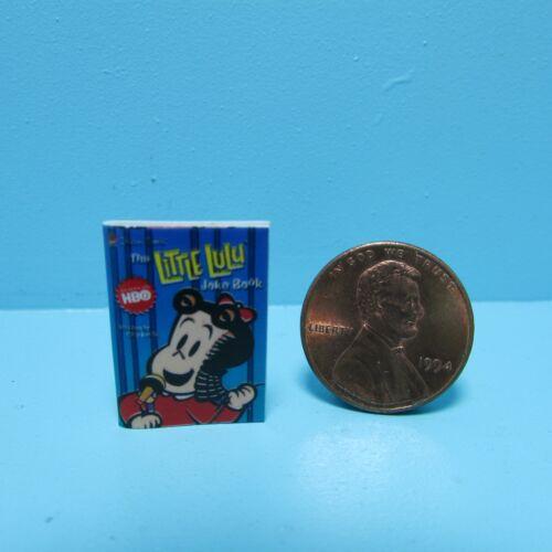 Dollhouse Miniature Replica Book of Little Lulu ~ B032
