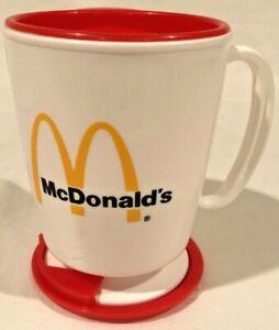VINTAGE 1990 McDonald's Coffee Travel Mug - BRAND NEW, NEVER USED!!