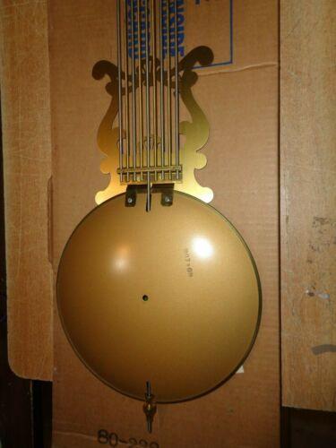 "Vintage-NOS-Brass-Grandfather Clock Gridiron Pendulum /""US Army/"""