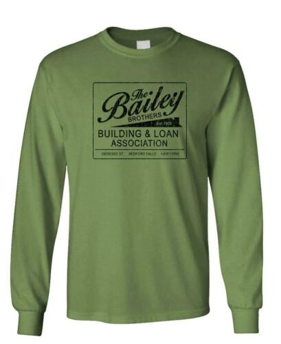Long Sleeved T-Shirt Tee Shirt BAILEY BROTHERS BUILDING AND LOAN