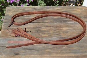 3-8-034-Jose-Ortiz-Conditioned-Harness-Leather-Split-Reins-8-ft
