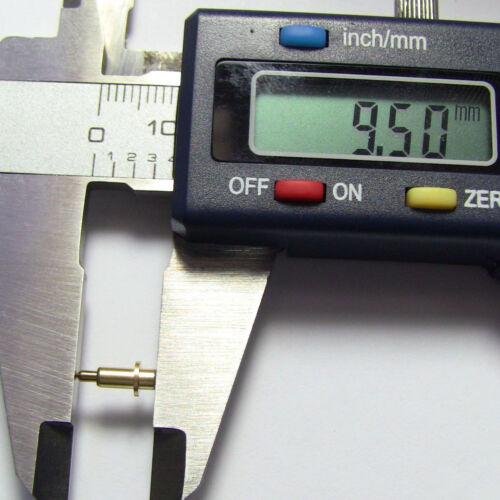 Batterie 10pcs t-12-2.5 Conn Ressort PINS plaqué or L 12 mm AVC 2.3 mm