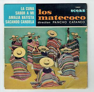 LOS-MATECOCO-Vinilo-45T-EP-7-034-LA-CUNA-TIENE-SABOR-MI-AMALIA-BATISTA-SCORE-14022