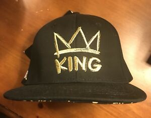 d1c65bd23 Details about NBA 2K19 Lebron James King Crown Logo Black Gold Hat Cap  Unisex One Size 2k