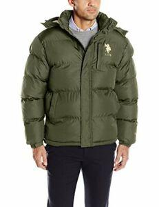 U.S. Polo Assn. Men's Classic Bubble Jacket with Polar ...