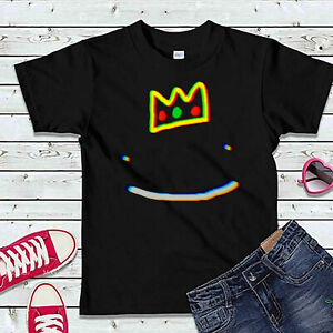 Ranboo Crown Merch Boys Girls Youtuber Gifts Tee Top Gifts #D Kids T-Shirts