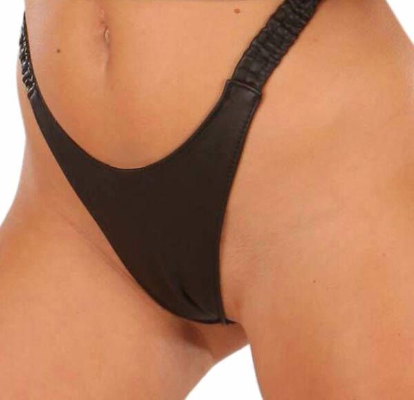 Leder Unterwäsche Slip String Tanga Hose Ledapol 670 Geschenkidee Sie Pants