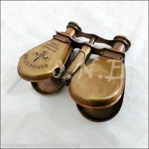 Antique-Brass-Maritime-Binocular-Telescope-Spyglass-Maritime-Gift-Decor-marines