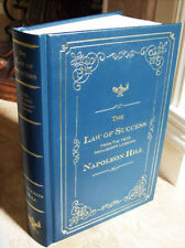 THE ORIGINAL 1925 LAW OF SUCCESS  NAPOLEON HILL H/COVER