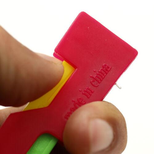 3X Automatic Needle Threader Thread Guide Elderly Use Device Sewing Random