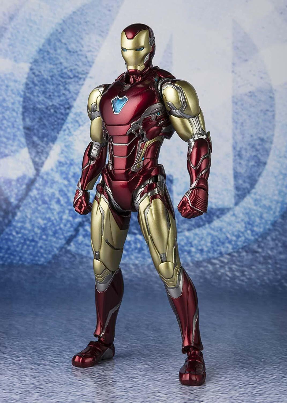Bandai S. H. FIGUARTS Iron Man Mark 85 Figura Avengers End Juego Japan Oficial