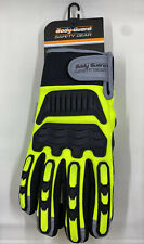 Body Guard Safety Gear Winter Impact Pvc Palm Gloves Size Xl New