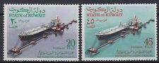 Kuwait 1970 ** Mi.509/10 Schiff Ship loading crude oil Öl
