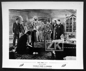 CHARLIE-CHAN-A-LONDRES-13-Photos-Detective-Chinois-Drue-Leyton-Film-Fox-1934