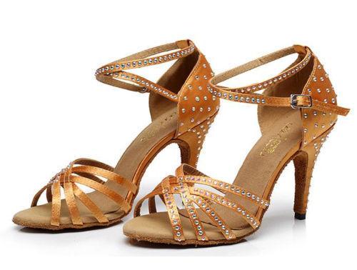 chic new diamond latin dance shoes adult women