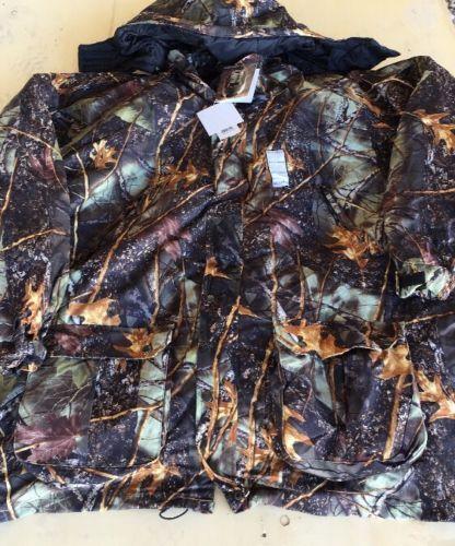 WFS 4-in-1 Hunting Parka Big & Tall Burly Camo Size 8X XXXXXXXXL Brand New