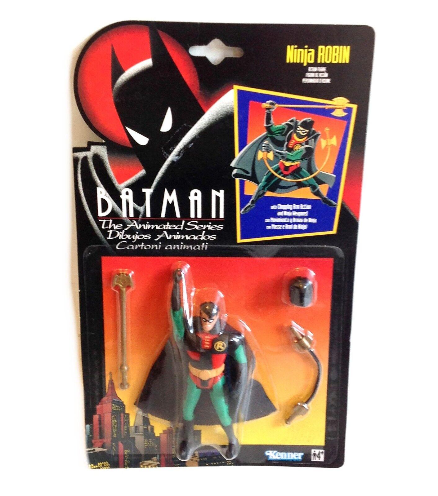 DC Comics ANIMATED SERIES BATMAN - NINJA ROBIN 5  toy figure boxed RARE